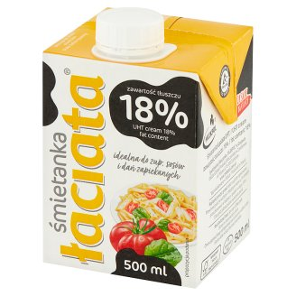 Łaciata 18% Soup and Sauce Cream 500 ml