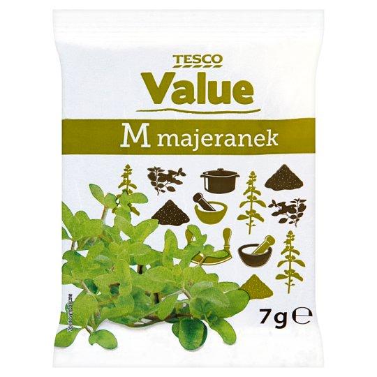 Tesco Value Marjoram 7 g
