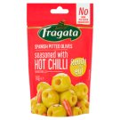 Fragata Spanish Pitted Olives with Hot Chilli Pepper Thyme and Olive Oil 70 g