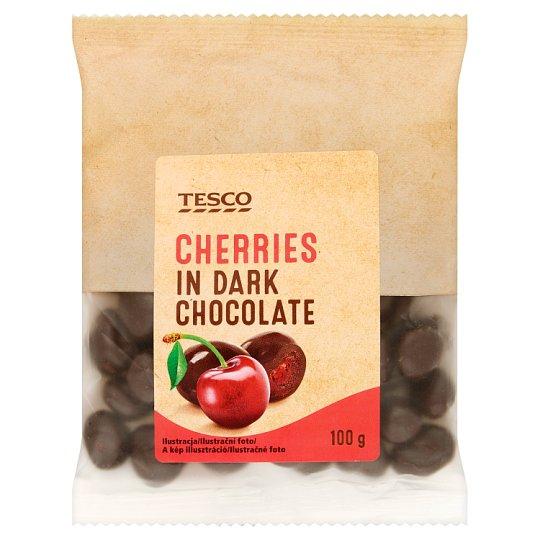 Tesco Wiśnie kandyzowane w czekoladzie 100 g