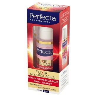 Perfecta Age Control Elixir Multi-Kolagen Serum odmładzające owal twarzy   30 ml