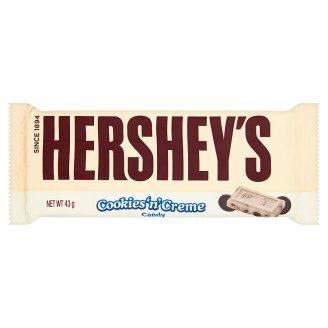 Hershey's White Chocolate with Cookie Bits 43 g