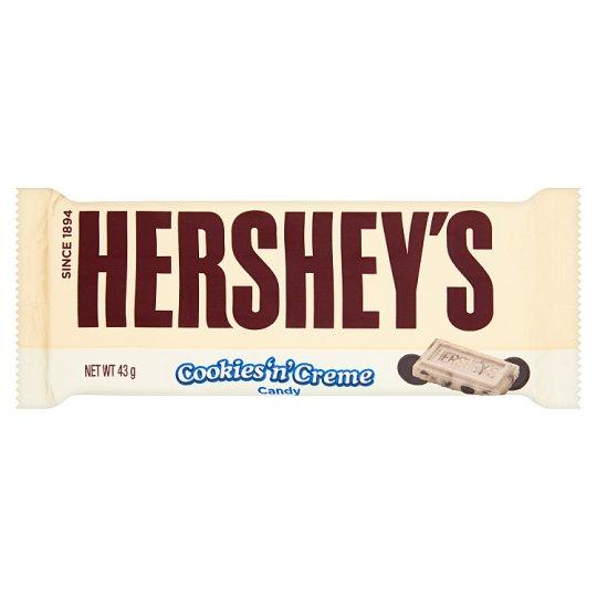 Hershey's Biała czekolada z dodatkiem ciasteczek 43 g