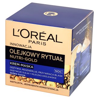 L'Oreal Paris Nutri-Gold Olejkowy Rytuał Night Cream-Mask Dry Skin 50 ml