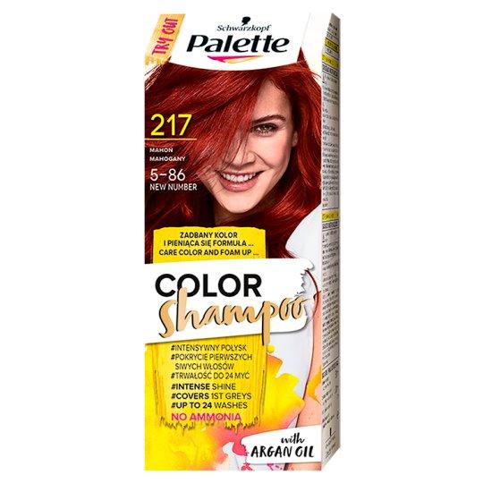 Palette Color Shampoo Coloring Shampoo Mahogany 217