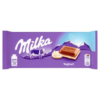 Milka Yoghurt Alpine Milk Chocolate 100 g