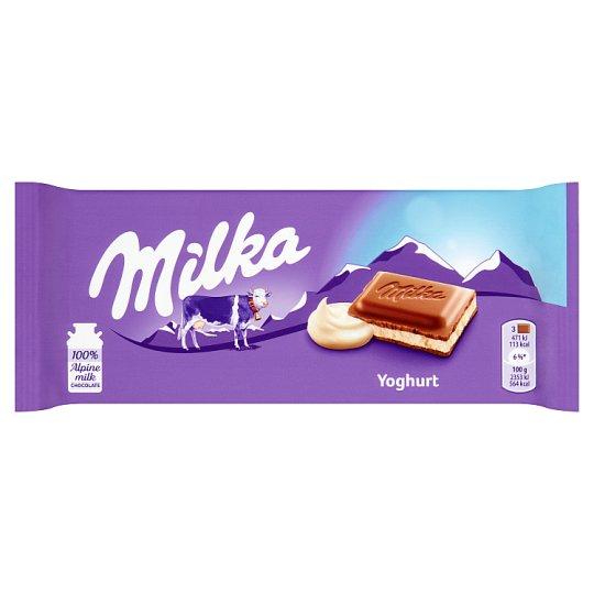 Milka Yoghurt Alpine Milk Chocolate 100 g