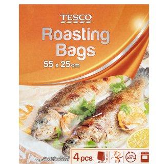 Tesco Roasting Bags 55 cm x 25 cm 4 Pieces