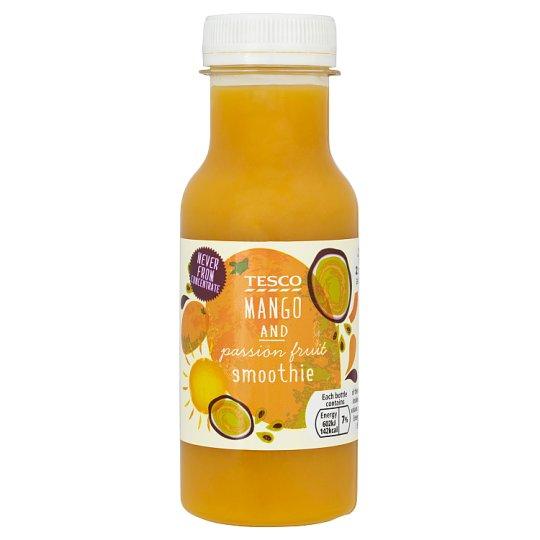 Tesco Mango and Passionfruit Smoothie 250 ml