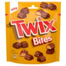Twix Bites Cookie Bars with Caramel Covered with Milk Chocolate 140 g