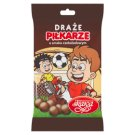 Wadowice Skawa Piłkarze Draże o smaku czekoladowym 70 g