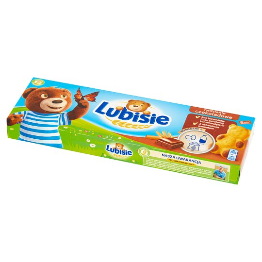 Lubisie Sponge Cake with Chocolate Filling 150 g (5 Pieces)