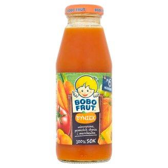 Bobo Frut Dyniek Grape Tomato Pumpkin and Carrot 100% Juice after 6 Months Onwards 300 ml