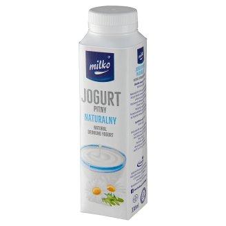 Milko Natural Yogurt 330 ml