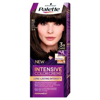 Palette Intensive Color Creme Farba do włosów Ciemny brąz N2