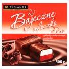 Ryelands Chocolates Bajeczne mleczko Duo z galaretką o smaku wiśniowym w czekoladzie 500 g