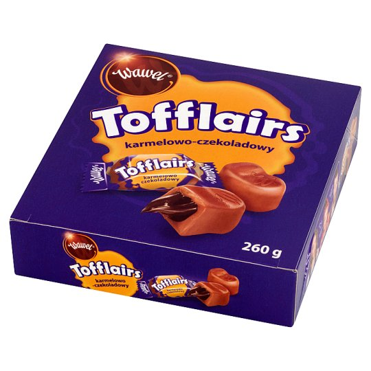 Wawel Tofflairs Caramel-Chocolate Milk Fudge 260 g