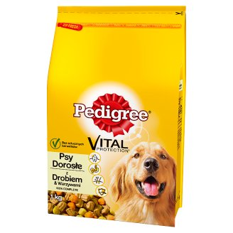 Pedigree Vital Protection Adult Complete Food with Poultry & Vegetables 1 kg