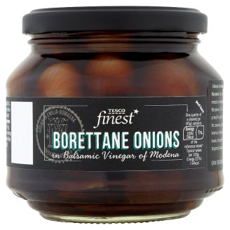 Tesco Finest Borettane Onion in Balsamic Vinegar of Modena 300 g