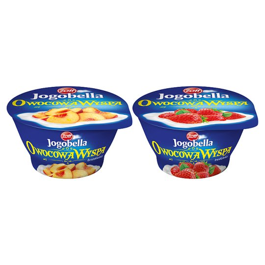 Zott Jogobella Owocowa Wyspa truskawka Deser jogurtowy 150 g