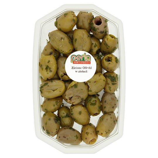 Perla Antipasti Green Olives in Herbs 90 g