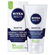 image 2 of NIVEA MEN Sensitive Face Care Moisture Cream 75 ml