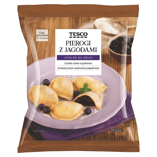 Tesco Dumplings with Blueberries 450 g