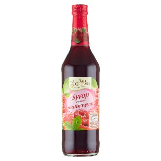 Sun Grown Raspberry Flavoured Syrup 500 ml