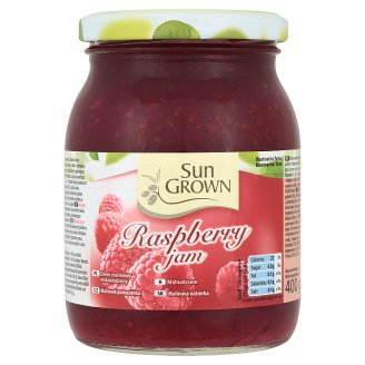 Sun Grown Raspberry Jam 400 g