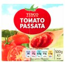Tesco Tomato Passata Przecier pomidorowy 500 g