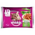 Whiskas 1+ Year Stew in Jelly Fish and Traditional Flavors Complete Cat Food 340 g (4 x 85 g)