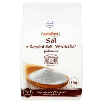 Kotányi Iodized Salt from Wieliczka Mine 1 kg