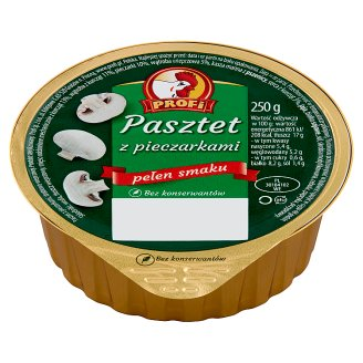 Profi Wielkopolski Pate with Poultry and Champignons 250 g