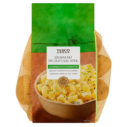 Tesco Soup and Salads Potatoes 1.5 kg