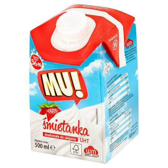 Mu! UHT Cream 36% 500 ml