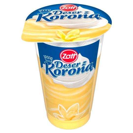 Zott Deser z Koroną Vanilla Flavoured with Whipped Cream Dessert 175 g
