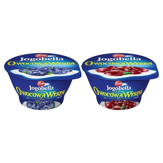 Zott Jogobella Owocowa Wyspa wiśnia Deser jogurtowy 150 g