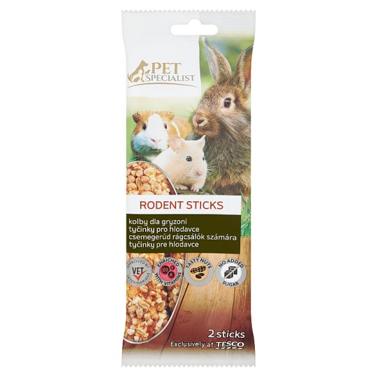 Tesco Pet Specialist Rodent Sticks 112 g (2 Pieces)