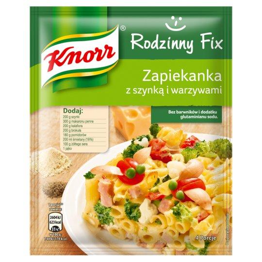 Knorr Rodzinny Fix Zapiekanka z szynką i warzywami 45 g