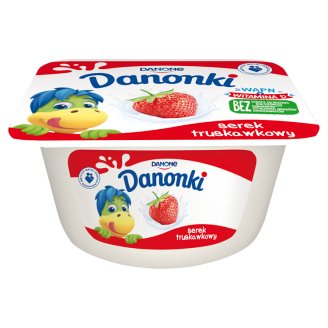 Danone Danonki Serek truskawkowy 115 g