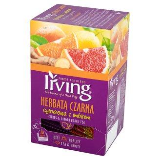 Irving Citrus & Ginger Black Tea 30 g (20 Tea Bags)