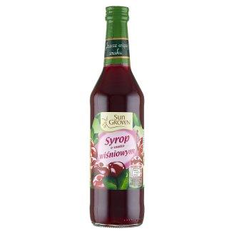 Sun Grown Syrop smak wiśniowy 500 ml