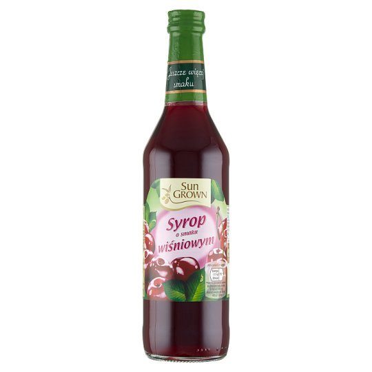 Sun Grown Cherry Flavoured Syrup 500 ml