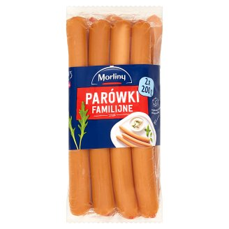Morliny Family Thin Sausages 400 g (2 x 200 g)