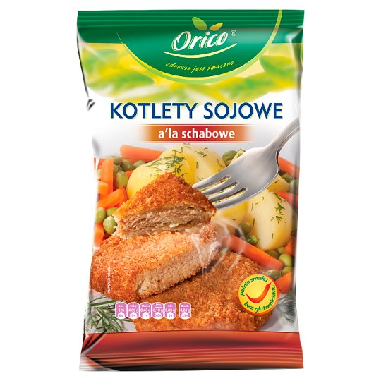 Orico Kotlety sojowe a'la schabowe 100 g