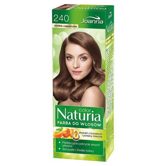 Joanna Naturia color Hair Dye Sweet Cappuccino 240