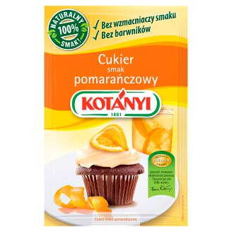 Kotányi Cukier smak pomarańczowy 30 g