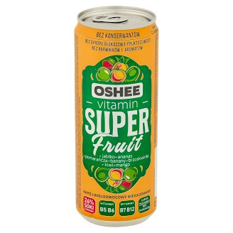 Oshee Vitamin Super Fruit Multifruit Flavour Non-Carbonated Drink 330 ml