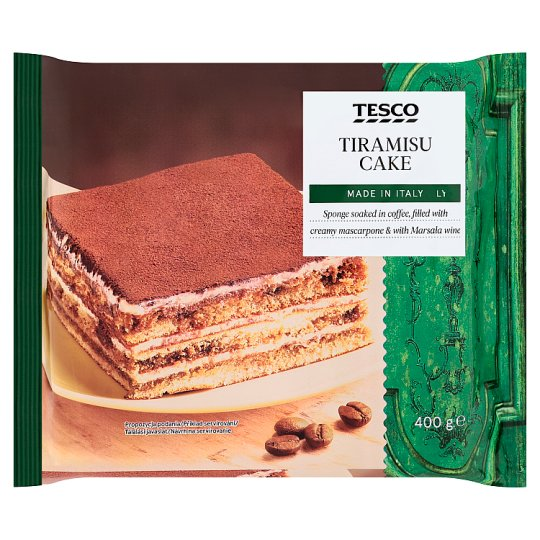 Tesco Tiramisu Cake 400 g