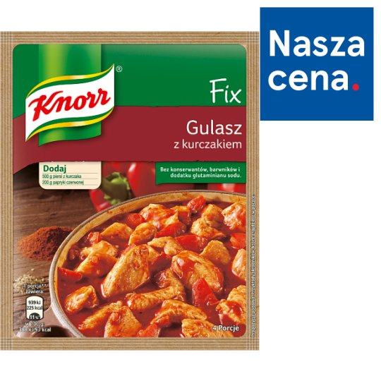Knorr Fix Goulash with Chicken 52 g